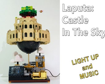 pre-order - ship in November- Laputa: Castle In The Sky - Lego - Collector Version - Assembled