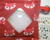 I Spy Bag Red Foxes Neutral themed contents girls boys seek and find game party favor sensory occupational therapy