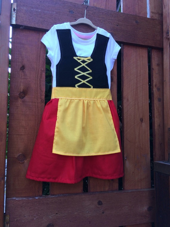 Toddler dirndl German dress
