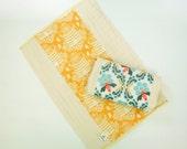 Burp Cloth Set // Bee Sweet