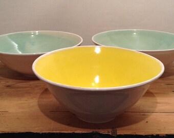 large porcelain noodle bowls