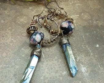 Mystique - Art Earrings