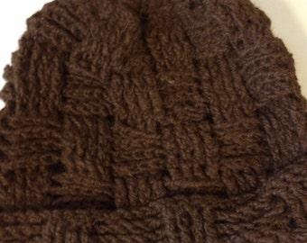Alpaca Hat - Med. Brown