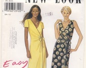 New Look 6861  Misses Easy Sew Wrap Dress 8 - 10 - 12 - 14 - 16 - 18