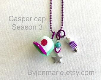 Shopkin casper cap charm necklace season 3