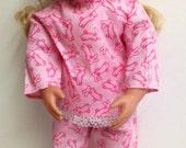 "18"" Doll Bunny Pjs for American Girl Generation Doll"