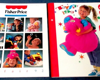 Fisher-Price Little People two Toy Catalogs 1992 & 1994