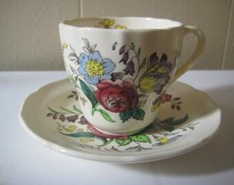 Copeland Spode,  England, Gainsborough Demitasse Cup & Saucer Set, Great Britain, 2 pc set