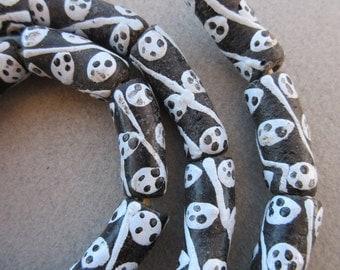 African Glass Krobo Beads