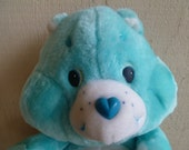 "Vintage Care Bear ""Wish Bear"" Plush 1984"