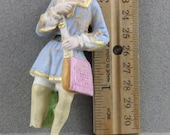 Vintage Antique Excavated German Painted Doll Body Altered Art Doll Supplies from Oscarcrow