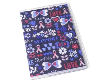 Passport Cover Breast Cancer Support