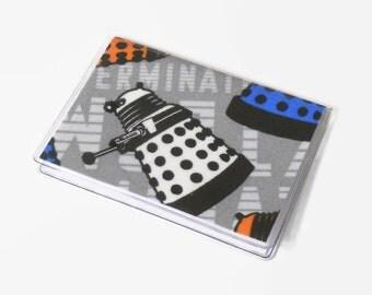 Card Case Mini Wallet Dr Who Dalek