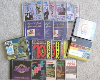 26 Rock n Roll CD, 50s 60s 70s Sets & More