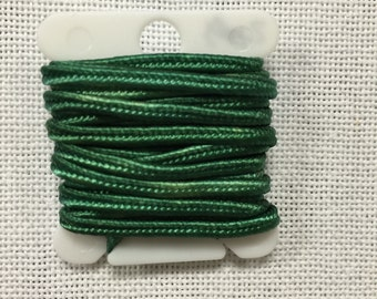Hand Dyed 3mm Soutache - Isle Greens
