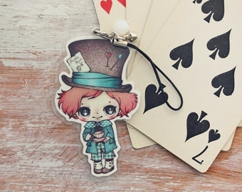 Alice in Wonderland - The Mad Hatter - charm
