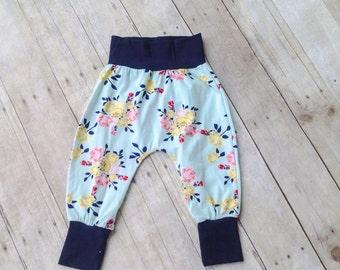 Harem Pants - Baby Infant Toddler Harem Pants - Children's Pants - children's leggings - girl's pants