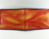 Firestorm - Hand Tooled Leather Wallet