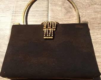 Art Deco Purse from Argentina with Fitted Interior c 1930