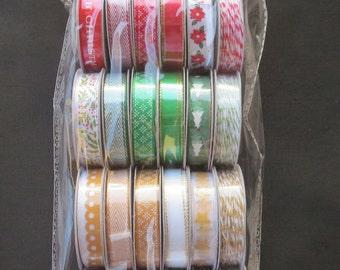 American Crafts Premium Ribbon - Deck The Halls