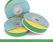 "Kelly Green Wholesale Fold Over Elastic - Solid FOE - 5/8"" Wide in 5 Yards"