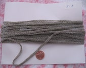 Vintage Rope Trim, 14 yards, Seamstress Delight, Silver