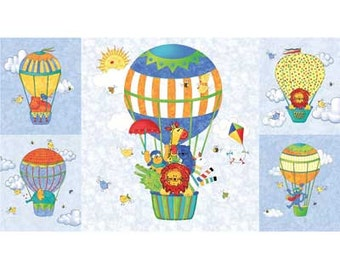 """Up and Away Balloon Panel - 24"""" x 44"""""""