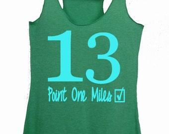 Half marathon thank - Half marathon shirts - Half marathon gifts - 13.1