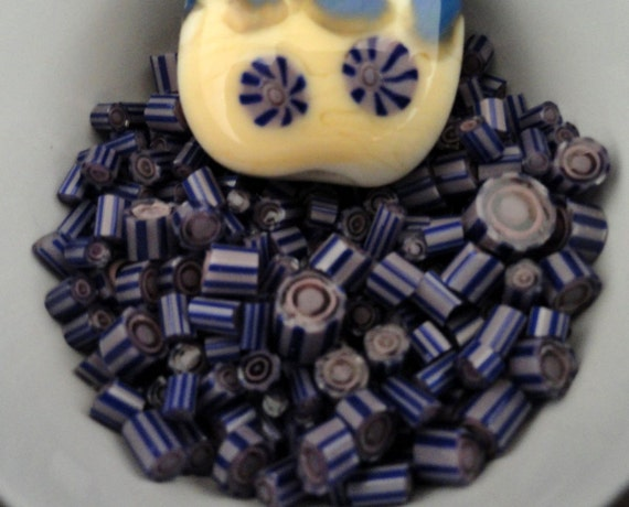 Basket Weaving Supplies Sacramento : Murrini chips blue lagoon lampwork supplies coe