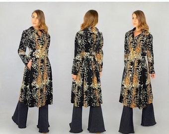 WINTER SALE RARE 60's Aquanala Belted Coat