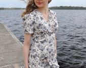 40s style summer dress for Lorena
