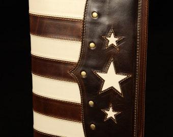 American Flag, Leather Journal:  Old Glory Americana Journal