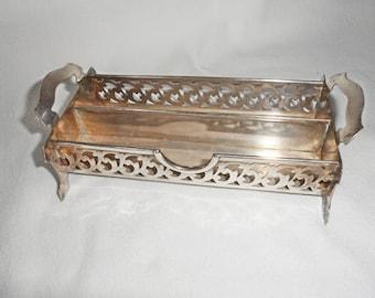 Vintage Silverplate Sugar Cube Tray