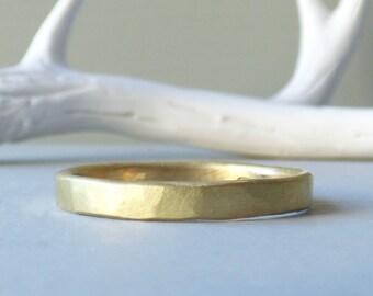 Sol 18ct Fairtrade Gold Ethical Men's Wedding Ring