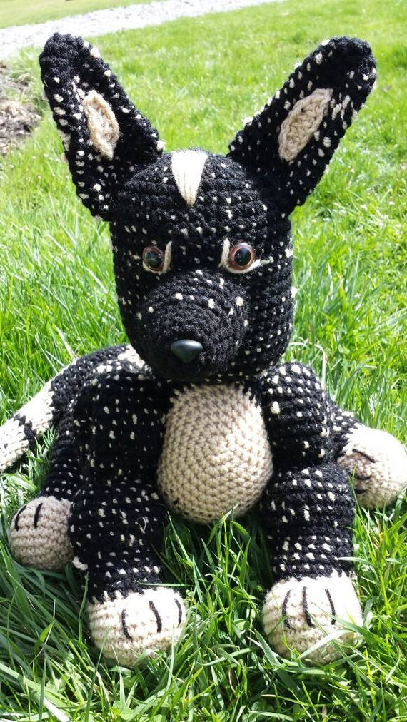 German Shepherd Dog Handmade Amigurumi Crochet German |Crochet German Shepherd
