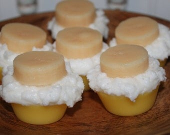 New - BANANA CREAM PIE Scented Primitive Bakery Cupcake Wax Melts Tarts Decor Bowl Fillers - Highly Scented