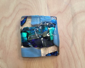 Fused Glass Paperweight S001