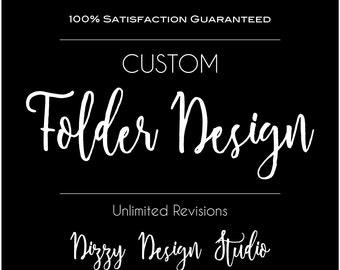 Custom Presentation Folder Design