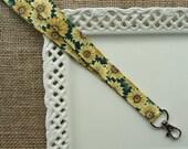 Lanyard Badge ID - Classic Sunflowers