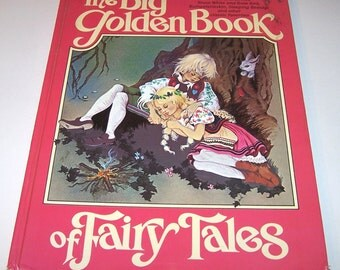 The Big Golden Book of Fairy Tales by Lornie Leete-Hodge and Beverlie Manson, hardback