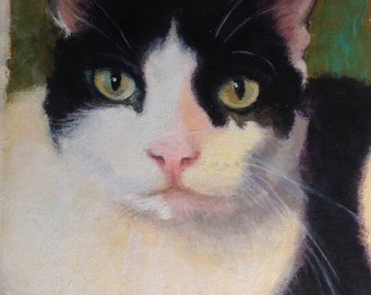 Custom 4x6 oil painting of your pet
