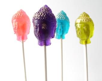 Buddah  Lollipops 6 pieces