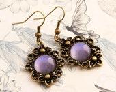 Cornflower - Victorian Earrings