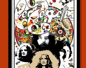 Led Zeppelin Poster Led Zeppelin III Promo .Large B2  (50X70 cm ) Print