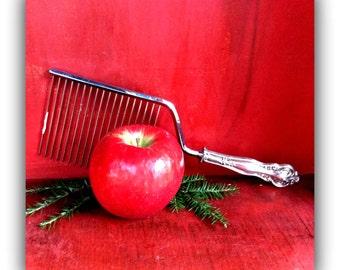 Vintage Sterling Silver Cake Breaker -MCM- Family Heirloom Silver - Hostess Gift - Dessert Knife