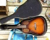 Alvarez 60th Anniversary 5051 Acoustic Guitar RARE Alvarez Guitar