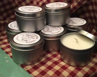 Bartlett Pear Soy Wax Container Candle