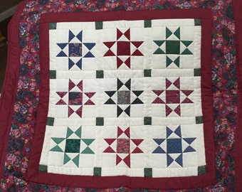 Amish Quilted Wall Hanging