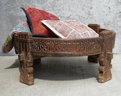 Chakki / Large Grinding Table / India Style / Moroccan Style / Turkish Style / Global Style / Shipping Included in the U.S.