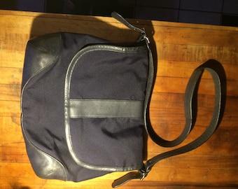 LLBean navy blue shoulder bag